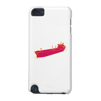 Container Ship Cargo Boat Mono Line iPod Touch (5th Generation) Case