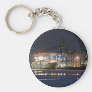 Container Ship Keychain