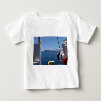 Container Ship Off Morocco Baby T-Shirt