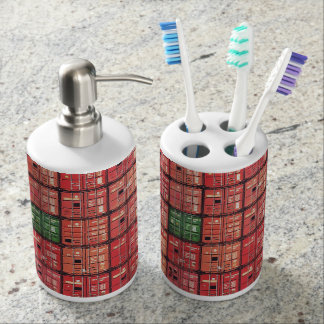 Containers in postage or Rotterdam Soap Dispenser And Toothbrush Holder