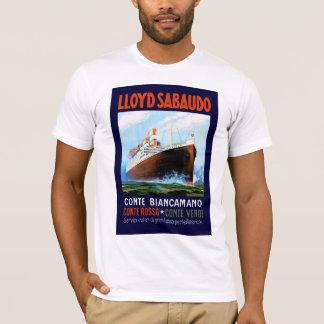 ~ Conte Biancamano de Lloyd Sabaudo T-shirt