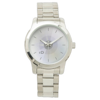 CONTEMPLATE | disc with subtle circles and id tag Watch