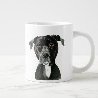 Contemplating Large Coffee Mug