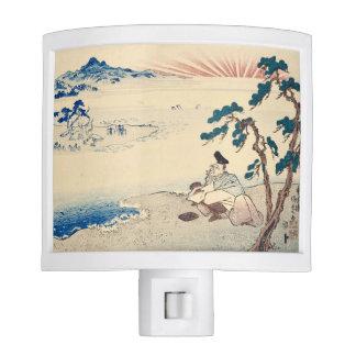 Contemplating Poet by Utagawa Kunisada Nite Lites