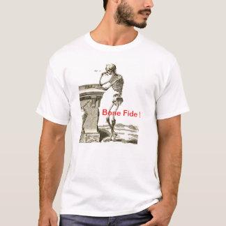 Contemplating Skeleton - Bone- E - Fide T-Shirt