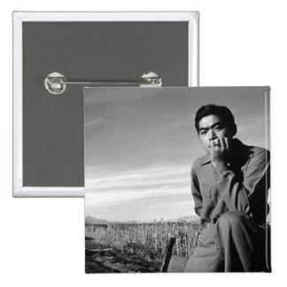 Contemplation at Manzanar 1943 Pin