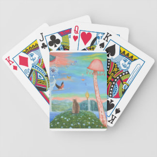 Contemplation Bicycle Playing Cards