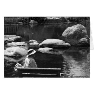 Contemplation, Big Springs Gardens Card