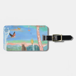 Contemplation Luggage Tag