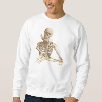 Contemplative Skeleton Sweatshirt