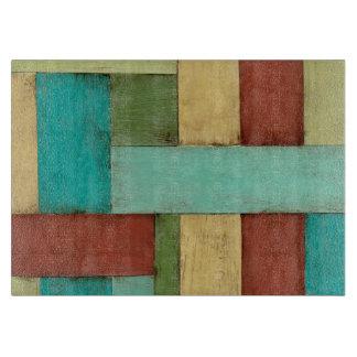Contempoary Coastal Multicolored Painting Boards