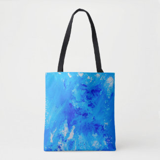 Contemporary abstract art tote bag