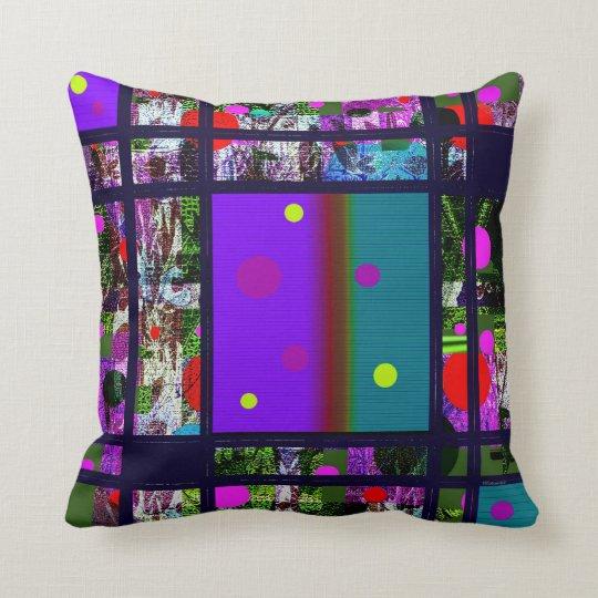 Contemporary Abstract   Design Throw Pillow