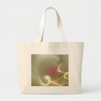 Contemporary  Abstract  Flower Jumbo Tote Bag