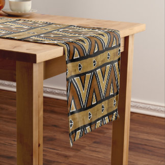 Contemporary: African Style Design Short Table Runner