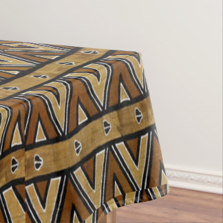 Contemporary African Tribal Pattern Tablecloth