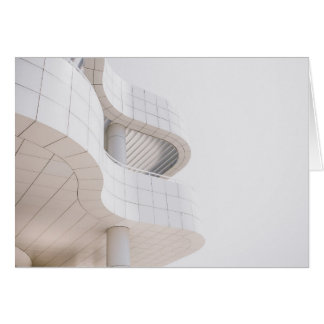 Contemporary Architecture Building Blank Notecard