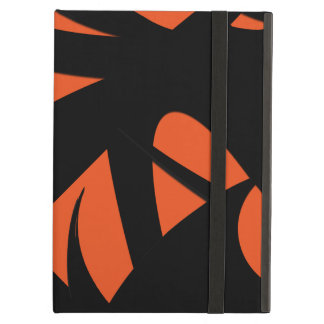 Contemporary Art Orange / Black iPad Air Case