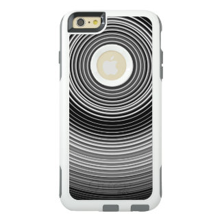 Contemporary Black and White Stylish Pattern OtterBox iPhone 6/6s Plus Case