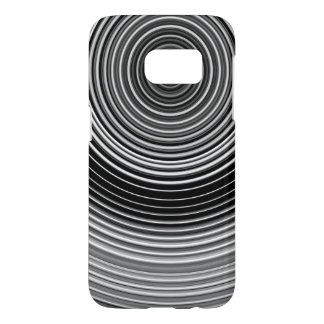Contemporary Black and White Stylish Pattern Samsung Galaxy S7 Case