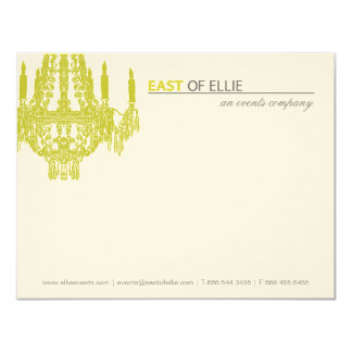 Contemporary Chandelier Notecards