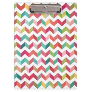 Contemporary Chevron Pattern Clip board