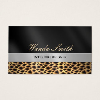Contemporary Chic Business Card 2 Sided