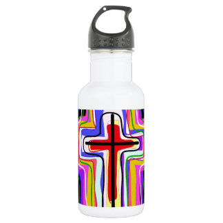 Contemporary Christian symbol. 532 Ml Water Bottle