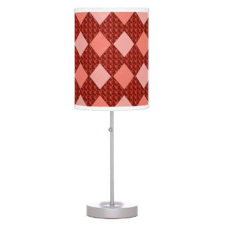 Contemporary_Country-Harlequin_Peach-Pink-Multi Table Lamp