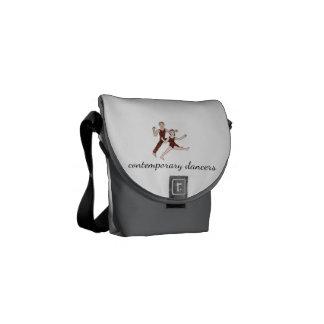 Contemporary Dancers Messenger Bags