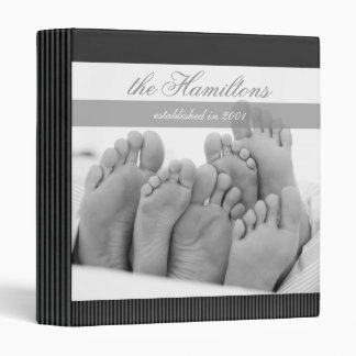 Contemporary Family Keepsake Binder