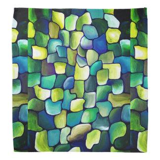 Contemporary Green Pattern Kerchief