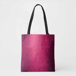 Contemporary Grungy Candy Pink Red Paining Tote Bag