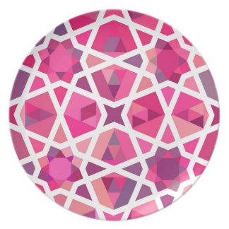 Contemporary Islamic Pattern Plate