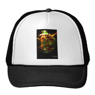 contemporary modern digital art trucker hat