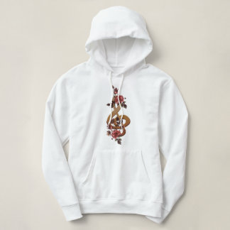 Contemporary Music and Roses Hoodie