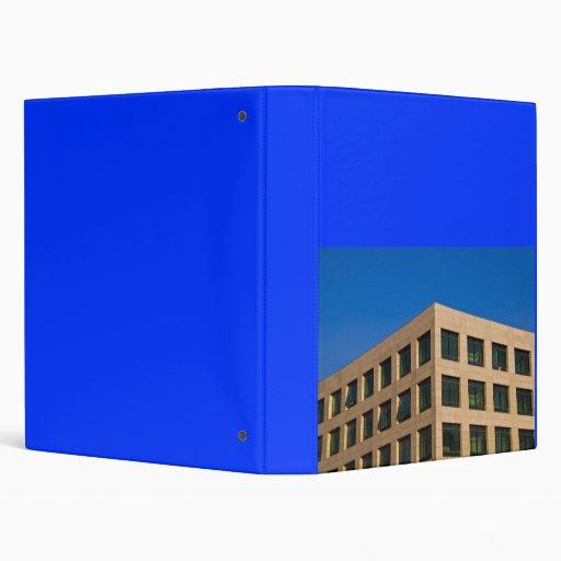 contemporary office building vinyl binders
