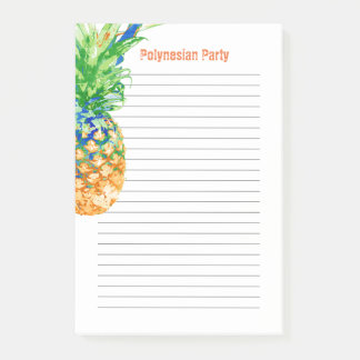 Contemporary Pineapple 4 x 6 Post-it Notes