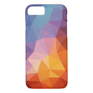 contemporary rainbow triangle pattern iPhone 8/7 case