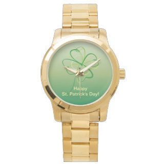 Contemporary Shamrock Watch