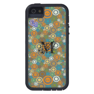 Contemporary Skulls Monogrammed iPhone 5 Covers