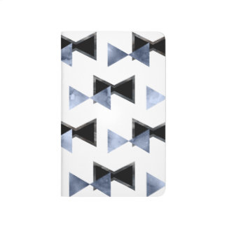 Contemporary Triangle bow-tie Notebook