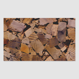 Contemporary wood chip design