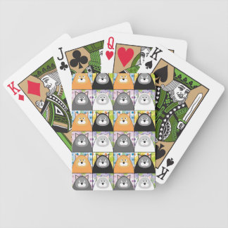 Content Kitty Playing Cards