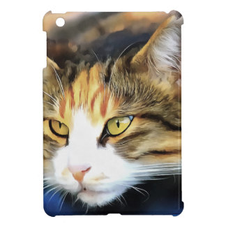 Contented Cat Cover For The iPad Mini
