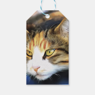 Contented Cat Gift Tags