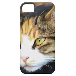 Contented Cat iPhone 5 Case