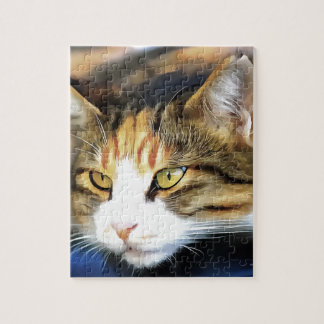 Contented Cat Jigsaw Puzzle