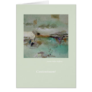 Contentment Card