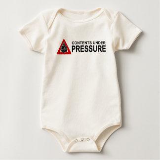 CONTENTS UNDER PRESSURE AL BABY BODYSUIT
